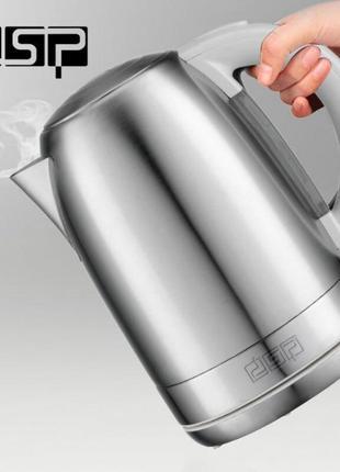 Электрочайник DSP KK 1114 чайник электрический 2200 Вт. 1.7 литра