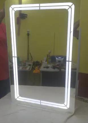 Зеркала с LED подсветкой и рисункакми на прямую от производителя!