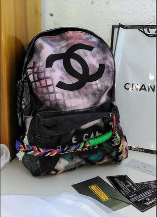 Рюкзак с розовинкой  , женский трендовая модель
