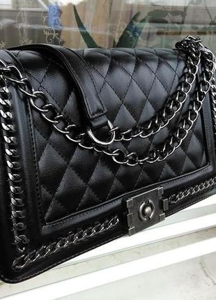 Женский клатч , сумка в черном цвете