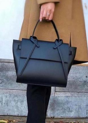 Женская кожаная сумка шоппер borse in pelle италия натуральная...