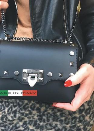 Женский кожаный клатч сумка модной формы. кожа натуральная , и...
