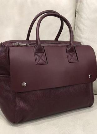 Женская сумка кожа натуральная италия