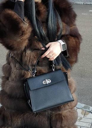 Женская сумка кросс-боди кожа , кожаные сумки италию люкс