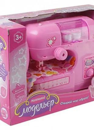 Детская швейная машинка со звуком и светом
