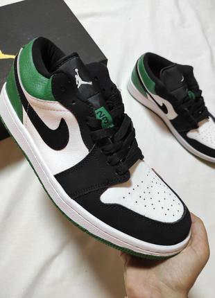 Мужские кроссовки nike air jordan 1 low