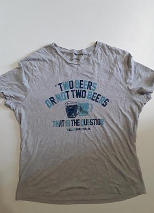 Фирменная хлопковая футболка