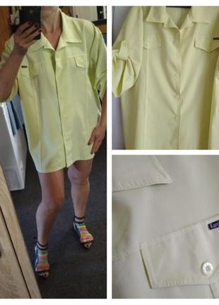 Очень красивая блузка рубашка,paris,karen kevin p. 18-20