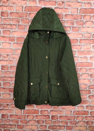 Женская стеганая демисезонная куртка michael kors