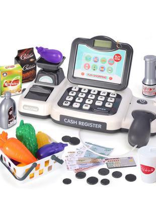 """Игровой набор """"Кассовый аппарат"""" H338 калькулятор, сканер, про..."""