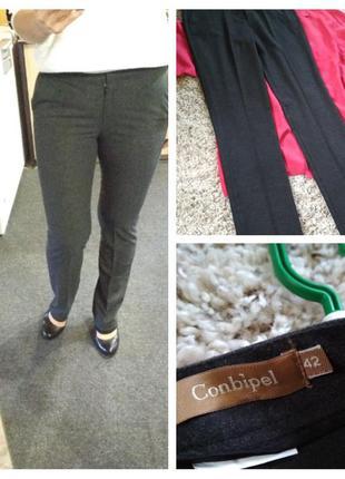 Актуальные теплые классические брюки, conbipel, p. 38-40