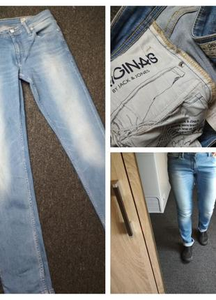 Актуальные стильные джинсы скинни, originals by jack& jones, p...