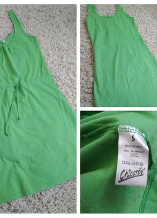 Славное катоновое платье , chicoree, p. s