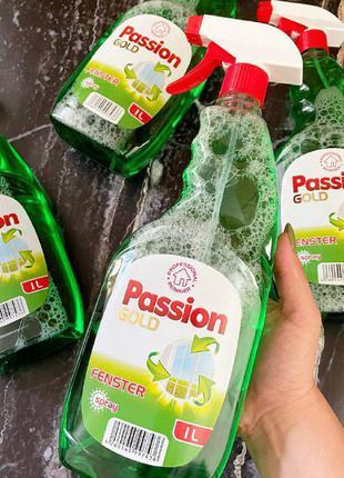 Средство для мытья окон  и стеклянных поверхностей passion gol...