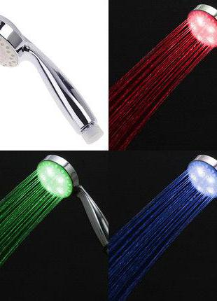 Насадка для душа с LED подсветкой и термо датчиком