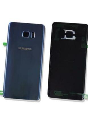 Задняя крышка/панель Samsung Galaxy Note 7 (стекло) Original Blue