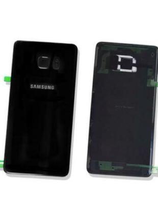 Задняя крышка/панель Samsung Galaxy Note 7 стекло Original Black
