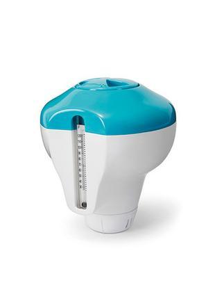 Поплавок с термометром для химии в таблетках Intex 29043