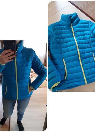 Актуальная теплая стеганная куртка, active tchibo, p. m-l