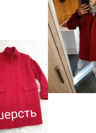 Актуальное шерстяное пальто с большими карманами, kappahi, p. ...
