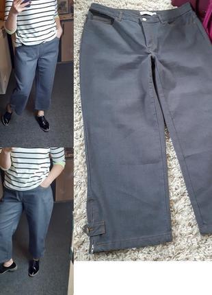 Стильные джинсы кюлоты в сером цвете,micha, p. 16