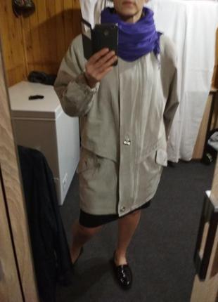 Красивая курточка большого размера,maria reich, р.48