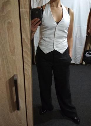 Блузка рубашка жилетка ,р. 38-40