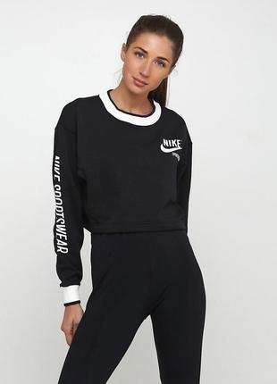 Кофта свитшот худи nike womens sportswear crew оригинал! - 15%