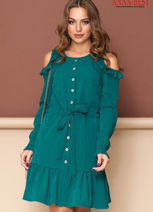 Платье короткое демисезонное, размер L