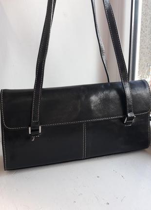 Кожаная сумка marks&spencer.
