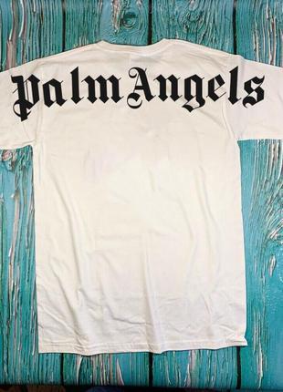 Футболка белая palm angels • футболка палм анджелс • бирки ориг