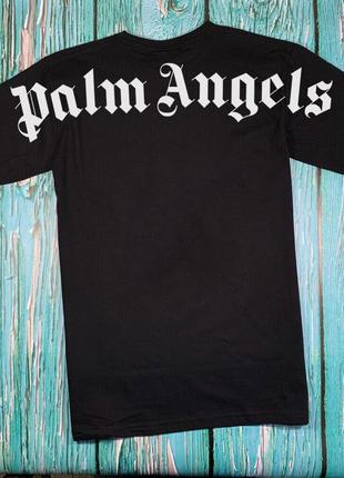 Футболка черная palm angels • футболка палм анджелс • бирки ориг