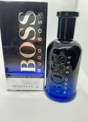 ⭐⭐оригинал ⭐⭐100 мл hugo boss boss bottled night древесный