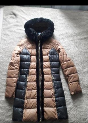Зимняя куртка плащ пальто