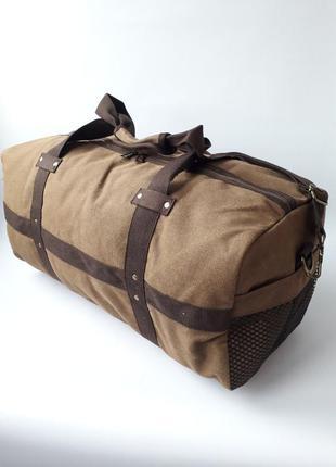 Вместительная дорожная сумка, бреентовая дорожная сумка, мужск...