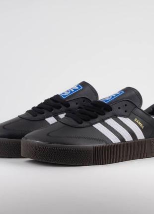 Adidas Samba Black And White
