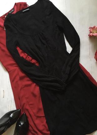 Чёрное вязаное платье(s)