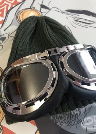 Шапка с лыжными очками бомба 2020 года