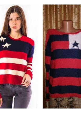 🔥🔥🔥стильная женская кофта, свитер, джемпер hilfiger denim🔥🔥🔥