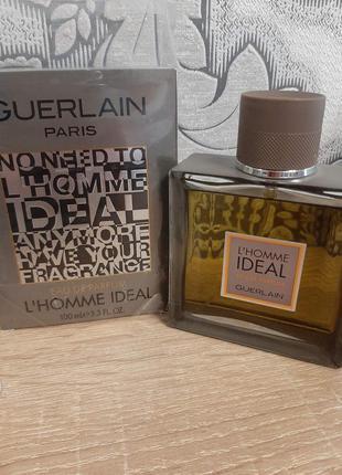 ☆оригинал☆100мл guerlain l'homme ideal  парфюмированная вода