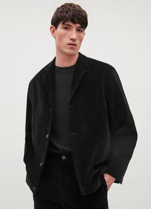 Вельветовый блейзер пиджак cos / 50