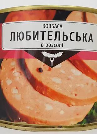 """Колбаса """"Любительская"""""""