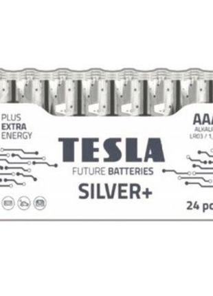 """Батарейки """"TESLA AAA: SILVER+, 24 шт"""