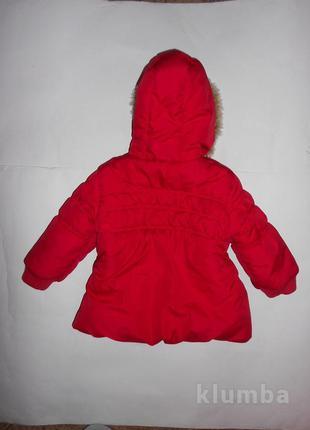 Демисезонная куртка 1,5-2годика рост 92см