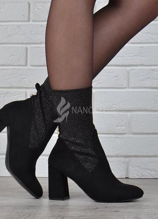 Ботильоны женские на широком каблуке jessy ross турция ботинки...