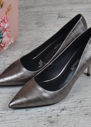 Туфли лодочки fabio monelli vogue женские на каблуке шпильке м...