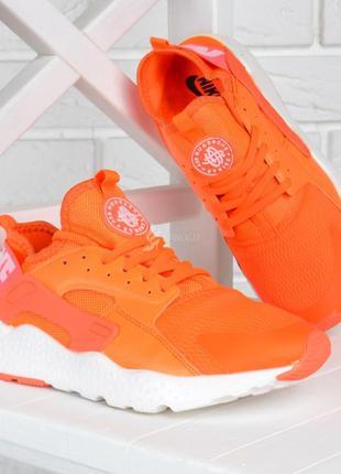 Кроссовки женские nike air huarache ultra living coral оранжев...