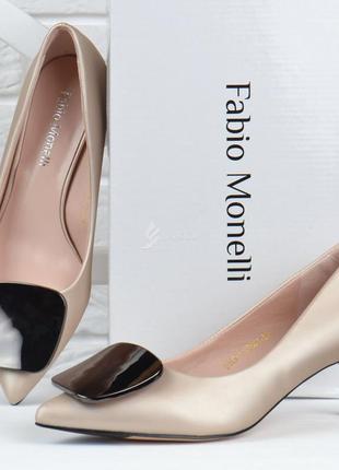 Туфли лодочки fabio monelli vogue 2 женские на каблуке шпильке...
