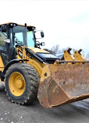 Послуги екскаватора-навантажувача Caterpillar 444F 700 грн