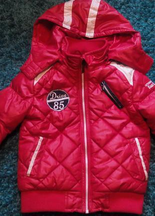 Куртка деми для мальчика glo story 104-110